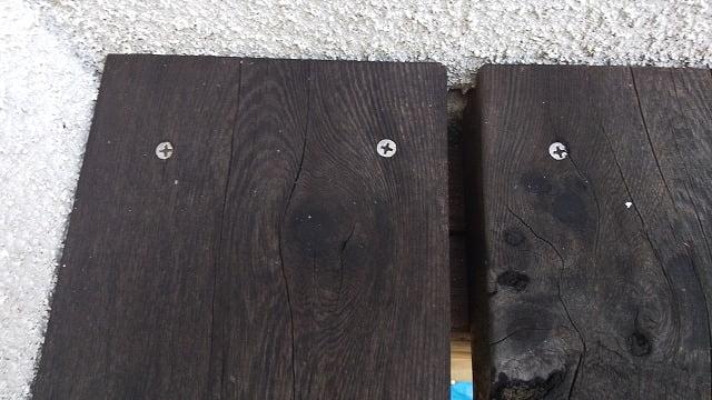 2Fデッキ床板①:条件の悪そうな箇所の写真画像