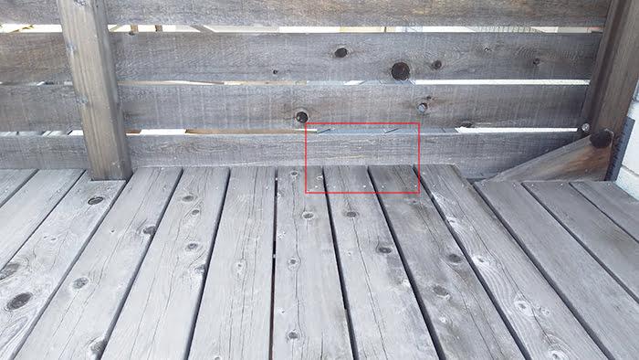 前掲の写真にヒントを発見した位置を記した写真画像