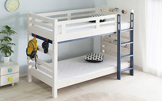 筆者の建売マイホームの子供部屋の二段ベッド(KAGU208(カグ208)さん商品ページより引用)