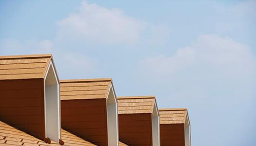 挿絵:やや高級なスレート屋根をイメージさせる写真画像