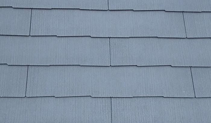 昨日撮影してきた筆者の現場のスレート屋根の写真画像