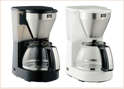 大容量コーヒーメーカー:MKM-4101ラインナップ写真画像 (メリタジャパンさんサイト商品ページより引用)
