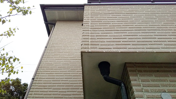 サイディング外壁のイメージを撮影した写真画像