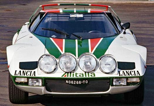 幼い頃憧れていたスーパーカーの一つ、ランチア・ストラトスを撮影した写真画像 (WEBモ-ターマガジンさんからの引用)